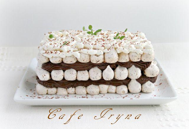Картинки по запросу Мятно-шоколадный торт-десерт с парижским кремом