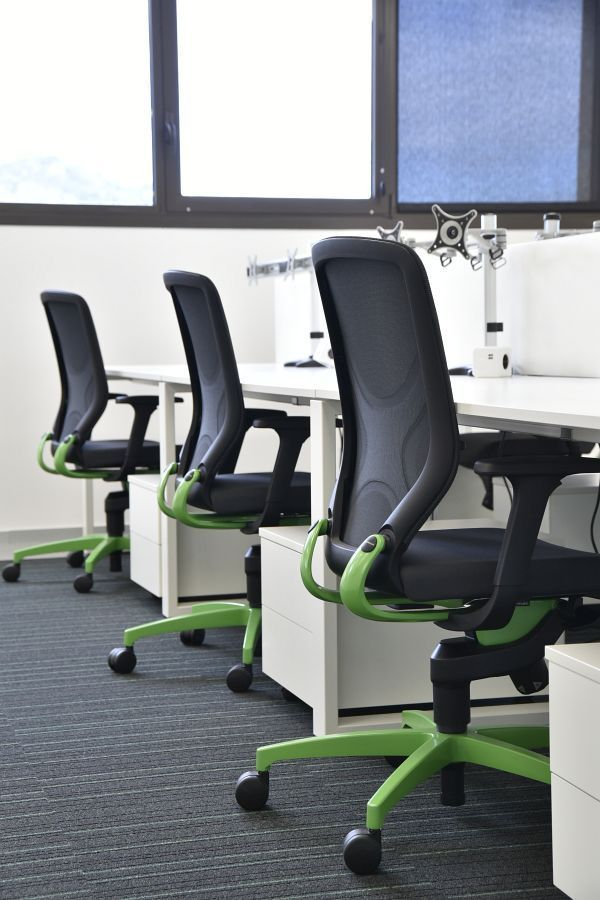 ADUR software productions office with IN office chair   task chair with Trimension ®   By #Wilkhahn  