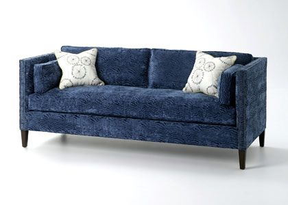 NEW April 2013 Intruduction Featuring Our Sofa Shown In Riptide   Aqua ~ Wesley  Hall Furniture