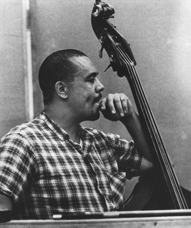 A young Charles Mingus.