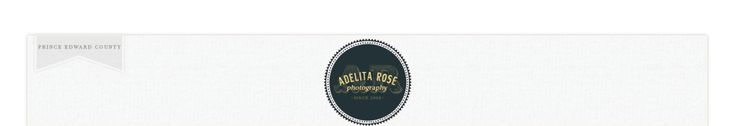 Adelita Rose Photography serving Prince Edward County, Kingston, Trenton, Quinte West and Eastern Ontario logo