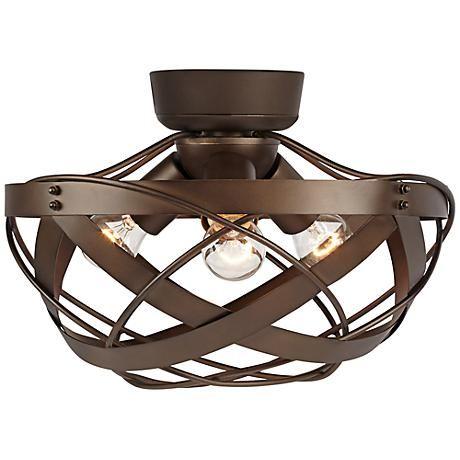 Orbital Weave Oil-Rubbed Bronze Fan Light Kit                                                                                                                                                                                 More