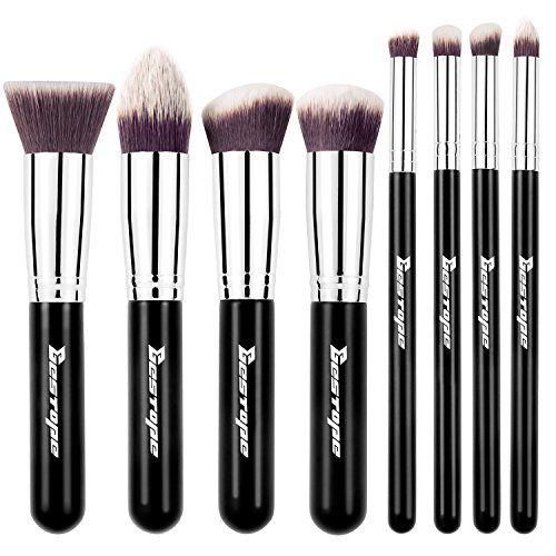 BESTOPE Premium Synthetic Kabuki Makeup Brushes Set Cosmetics Foundation Blending Blush Eyeliner Face Powder Brush Makeup Brushes Kit