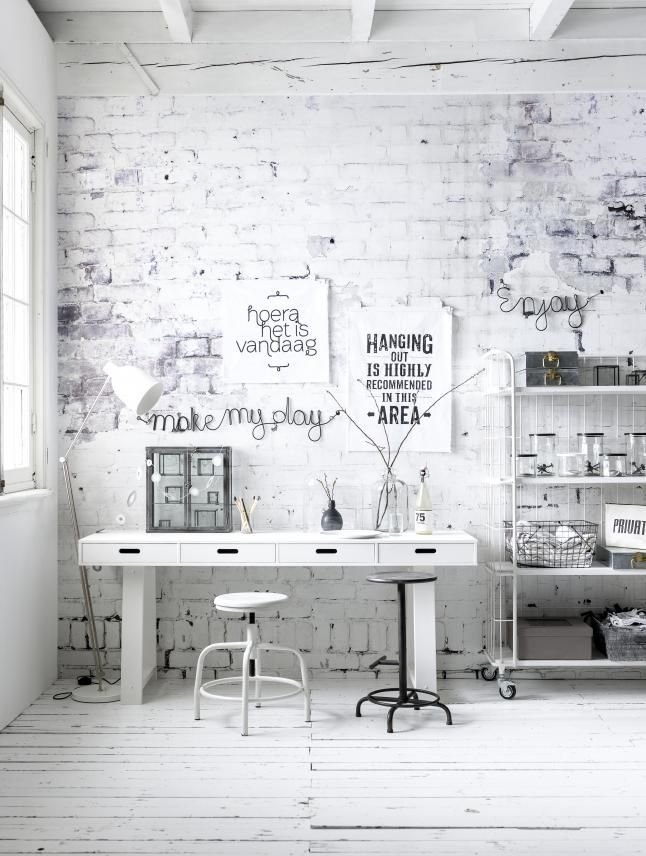 46 White Brick Wall Ideas For Your Room White Brick Wallpaper