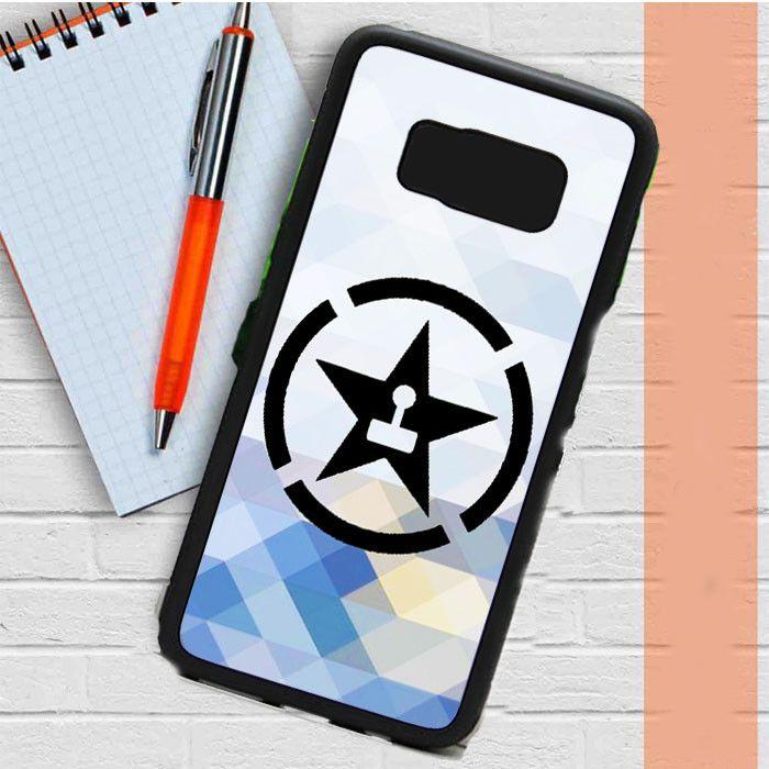 Achievement Hunter Logo Crystal Samsung Galaxy S8 Case Dewantary