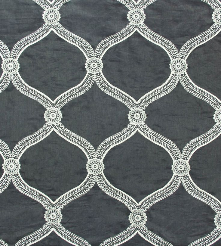 Interior design trend, Trellis geometric wallpaper | Floral Trellis Fabric by Travers | Jane Clayton