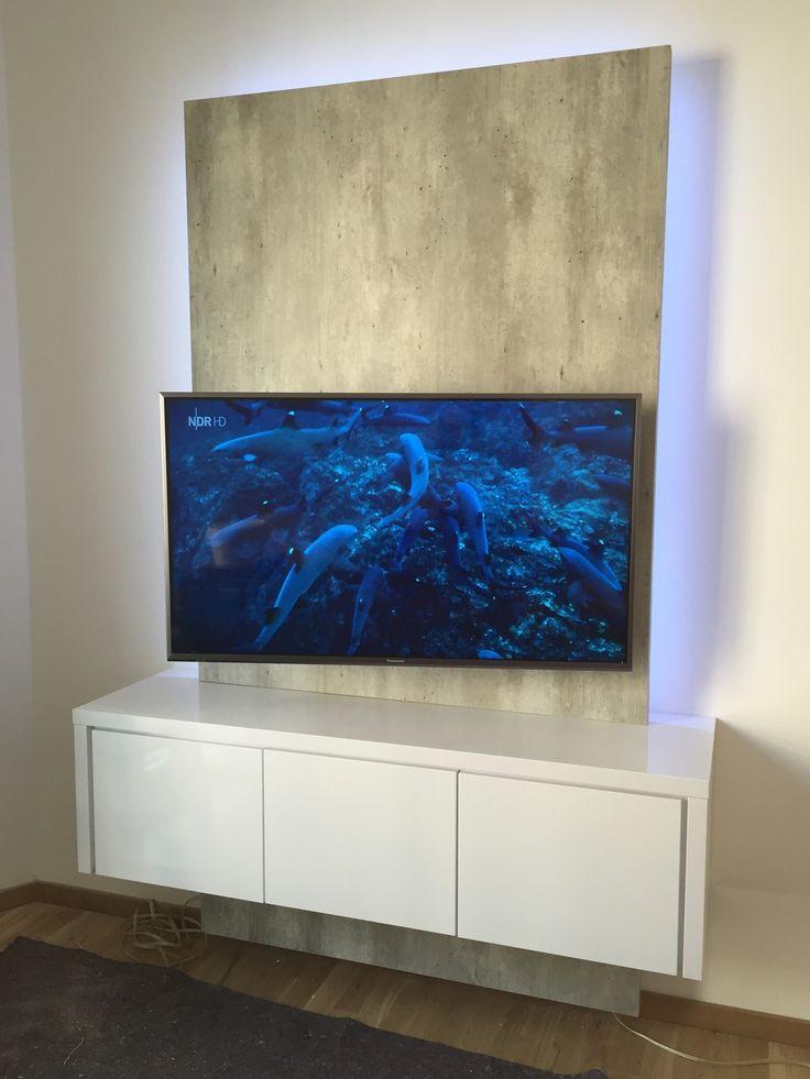 17 Best Ideas About Tv Wand Wohnzimmer On Pinterest | Tv Wand Do ... Einrichtung Trkis Grau Wohnzimmer Steinwand
