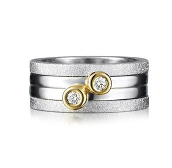 Yvonne Ryan Jewellery - Triple Stacking Diamond Ring