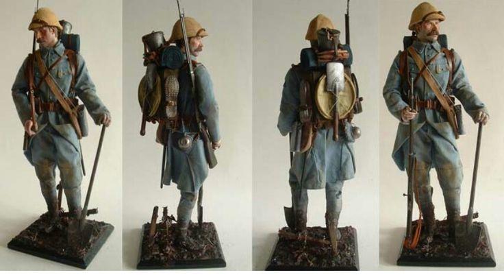 French Infantry, 1916
