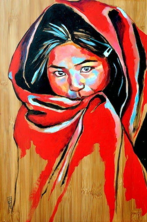 Le voile rouge (Pérou) Stephanie Ledoux