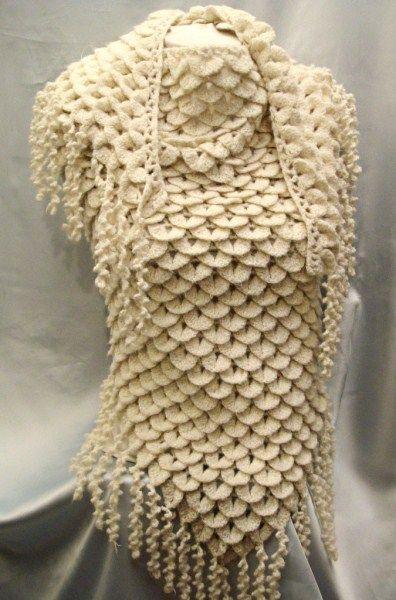 chales y cuellos en Pinterest Ravelry, CrochE y Chales de encaje ...