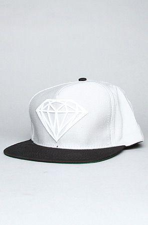 The Brilliant Snapback Cap in Grey, Black, & White by Diamond Supply Co. #KARMALOOP