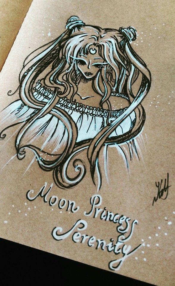 Moon Princess Serenity by artmaker77.deviantart.com on @DeviantArt