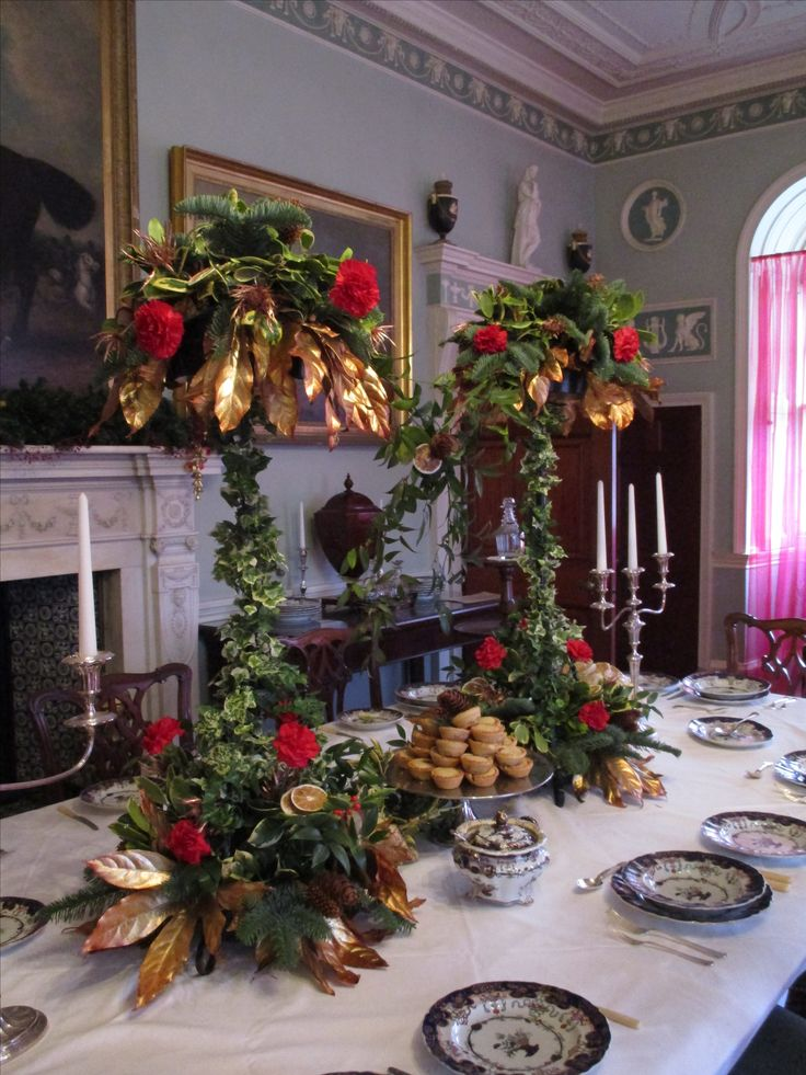 """Dinner with the Earl is always a feast of delights... """"The Magical Castle.  A Christmas Dream"""""""