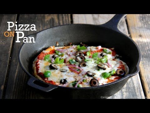 No Yeast, No Oven Pizza Recipe | Pizza without oven | Pizza on Tawa | foodsandflavorsbyshilpi.com - YouTube