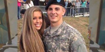 Militar vuelve de una misión y publica una foto con su novia. Poco después…