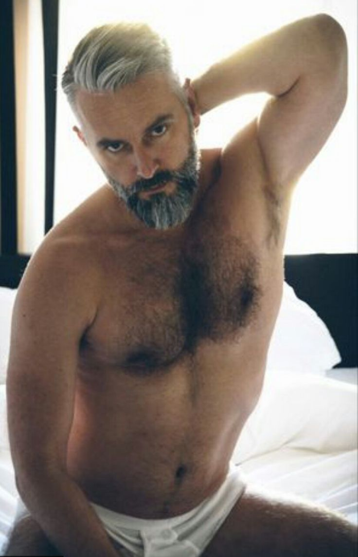 The multiple phases of me  Hairy Men  Silver foxes men