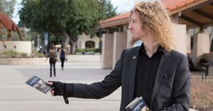 Student Kevin Shaw is suing Pierce College in LA for preventing his distribution of pocket sized Constitutions.