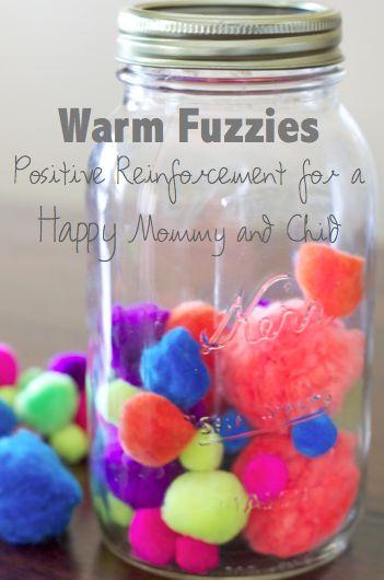 do it yourself divas: DIY: Positive Reinforcement Using Warm Fuzzies