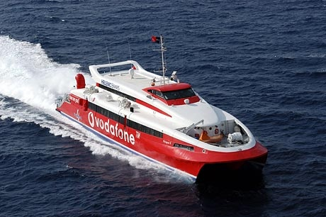 Hellenic Seaways has published 2013 Flying Cat IV Greek ferry schedules connecting the Athens port of Rafina to the Greek islands of Tinos, Mykonos, Paros, Naxos, Koufonissia and Amorgos.