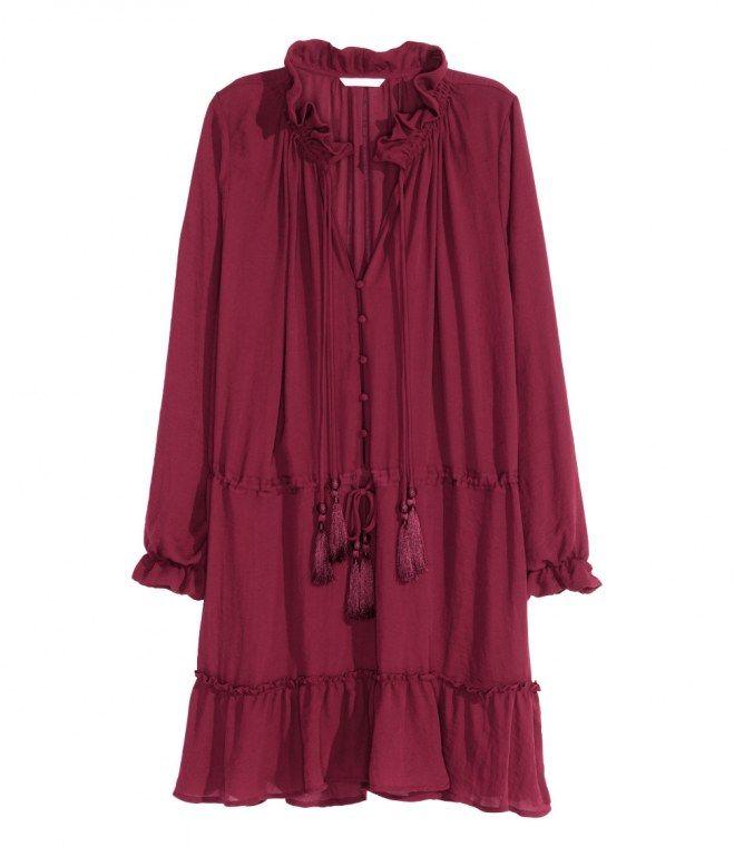 Volantkleid mit versetzter Taille von H&M, 39,99 €