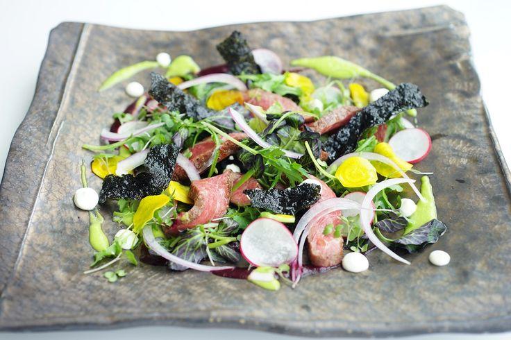 Torched Wagyu Beef Salad