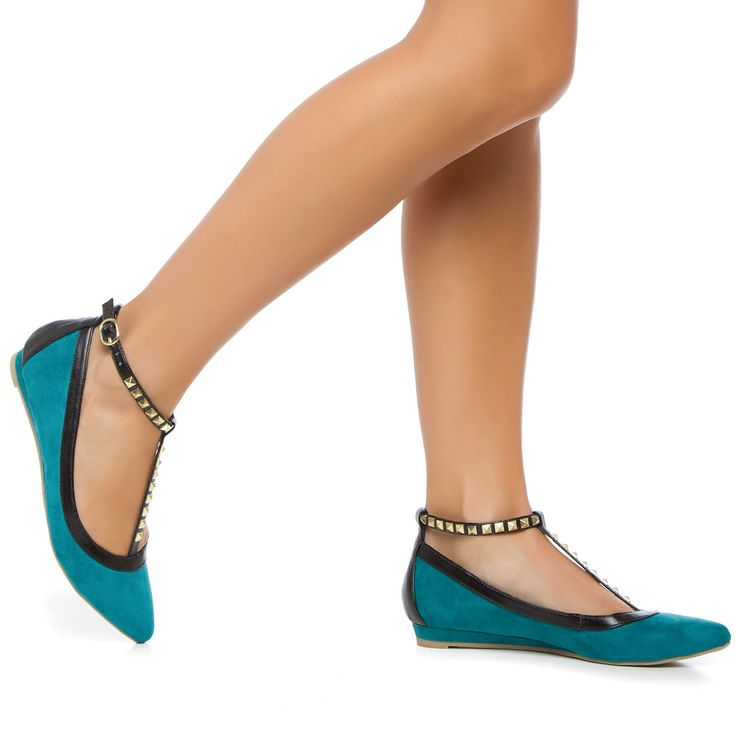 Teal Flats: Fashion, Cfm Shoes, Dream Closet, Dream Shoes, Makayla S Style, Shoes 3, Flats, Rocker Chic