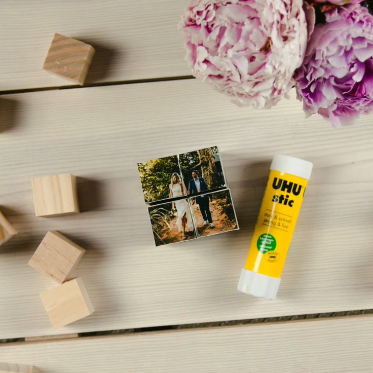 DIY PHOTO CUBE GIFT IDEA