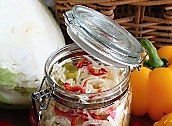 Čalamáda ze zelí a paprik