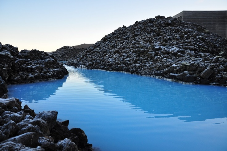 Enter the Blue Lagoon! Via: Behind The Lens Lukey #travel #photography-lived less than a mile from here.