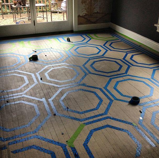 Painted Hardwood Floors Ideas: 25+ Best Ideas About Wood Floor Pattern On Pinterest