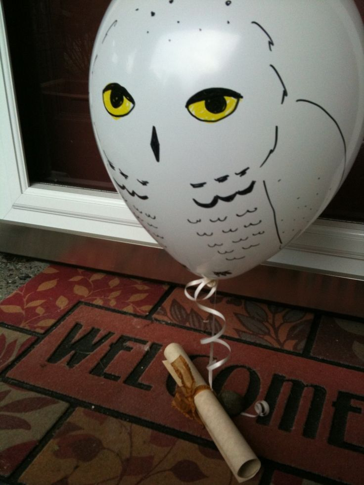 How a mother sent out invites to a Harry Potter themed birthday party for her 9 year old. Amazing!