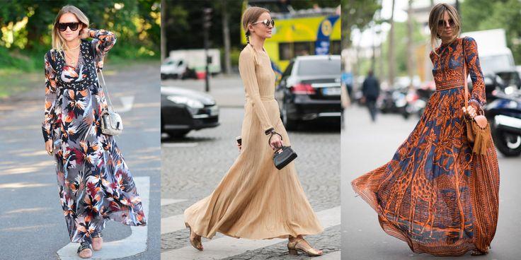 10 vestiti lunghi etnici che donano a tutte e anche con i sandali flat -cosmopolitan.it