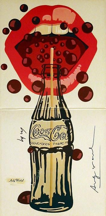 Coca-Cola cover by Andy Warhol for Andy Warhol's Velvet Underground featuring Nico, 1977