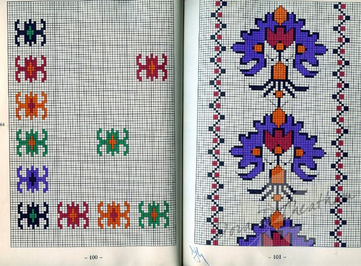 Gallery.ru / Фото #74 - Kereszteszemes Himzesmintak - Dora2012