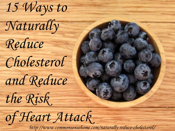 Natural Alternatives to Statin Drugs - 15 Ways to Naturally Reduce Cholesterol and Reduce the Risk of Heart Attack