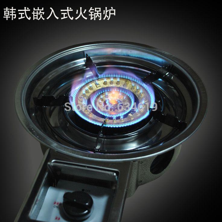 Корейский газовый котел, Высокой газа кухонная плита, Энергосбережение открытый плита купить на AliExpress