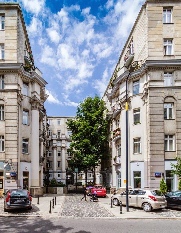 Mokotowska street, Warsaw