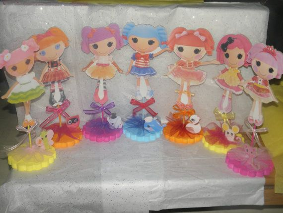 lalaloopsy party centerpieces