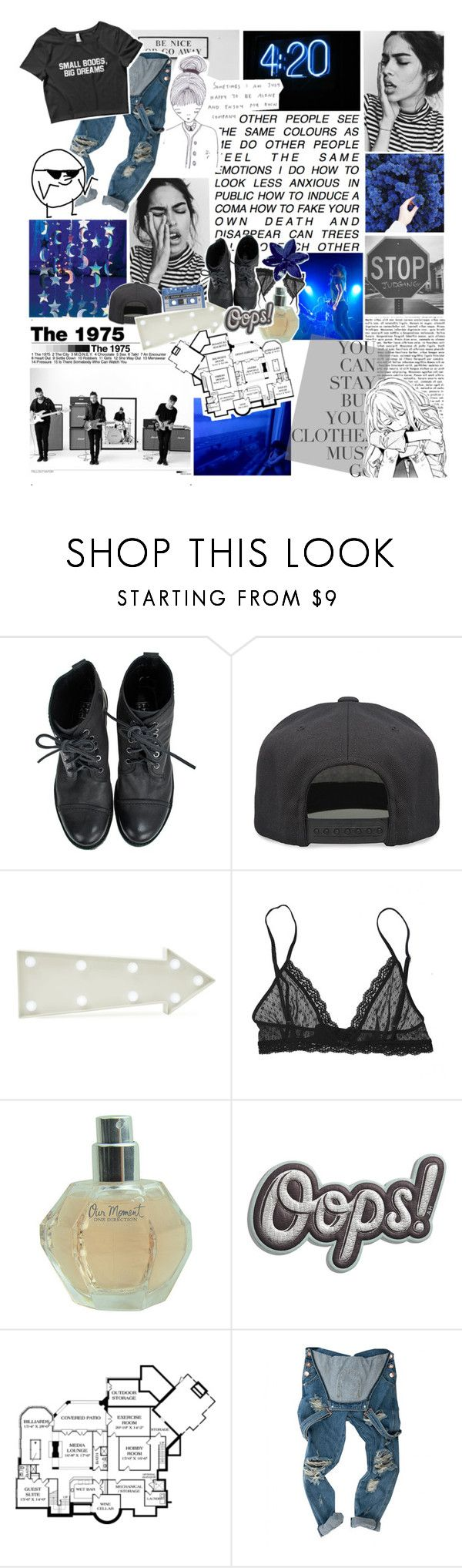 """VICTIM OF SOCIETY - RTD!"" by everything-is-peachy ❤ liked on Polyvore featuring Polaroid, GET LOST, AME, Alex and Chloe, New Look, Eberjey, Karl Lagerfeld, Anya Hindmarch and leireyougottagged"