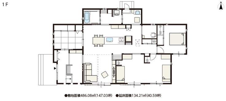 白にこだわった平屋の家、バリアフリー設計で車椅子でも快適 | 実例紹介 | 戸建住宅 | パナホーム
