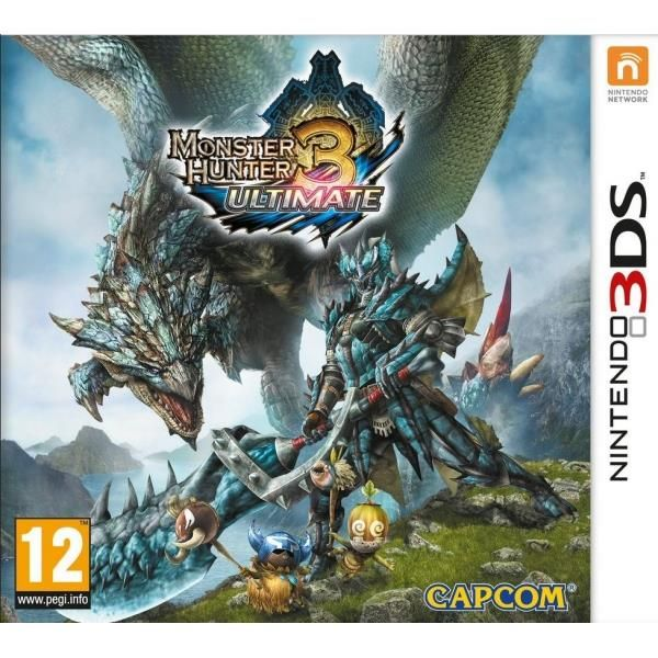 Monster Hunter 3 Ultimate Game 3DS | http://gamesactions.com shares #new #latest #videogames #games for #pc #psp #ps3 #wii #xbox #nintendo #3ds