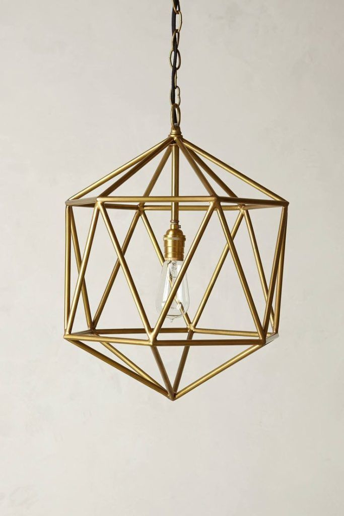 Lighting Fixtures Splendid Gold Light Fixtures: Euclidean Pendant Faceted Orb  Pendants Pendant Lamps And Light  Brushed Gold Light Fixtures Winter Gold Light Fixtures
