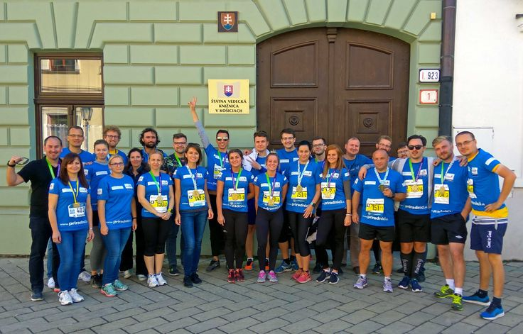 "October 1st the team of CTR group employees and their colleagues from VSH Development participated in the ""Medzinárodný maratón mieru"" in Košice. The race was attended by 6 relay teams representing our project Rezidencia pri radnici, and the best team completed the marathonroute in the excellent time: 4:01:19."