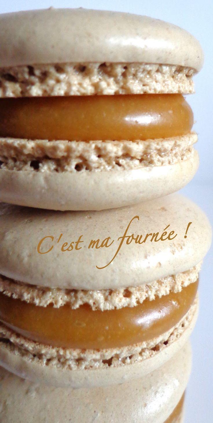 Il y a déjà une recette de macarons caramel beurre salé sur mon blog, à savoir celle de Pierre Hermé, mais je n'en étais ...