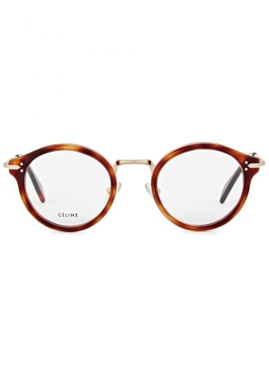 1b1785def3 Céline Joe tortoiseshell round-frame optical glasses