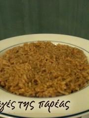 Ρύζι Μπάσματι με παραδοσιακό Ινδικό τρόπο #sintagespareas