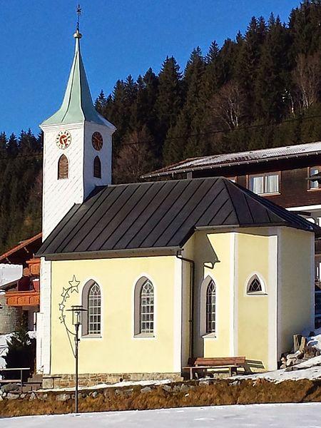 Jungholz Langenschwand, Ortskapelle Hll. Peter Und Paul (Reutte) Tirol AUT