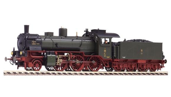 Dampflokomotive der Gattung P 6 der K.P.E.V.