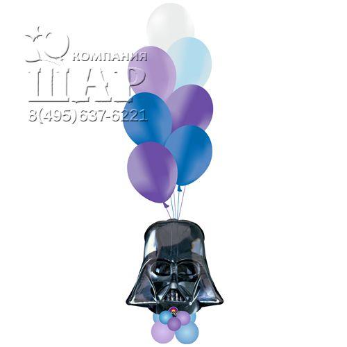 Букет из воздушных шаров в стиле Звездные войны